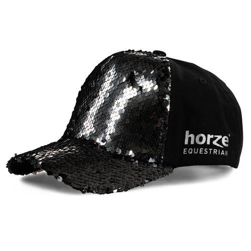 Horze Women's Sequin Cap - Black