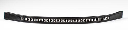 Harmohn Kraft Vertical Baguette Browband 3/4in - Black