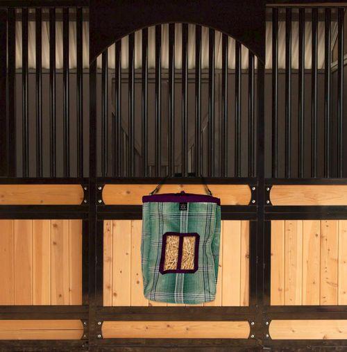 Kensington 2 Flake Hay Bag with Rim - Imperial Jade