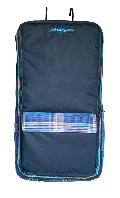 Kensington Signature Padded Halter Bridle Bag w/Hooks - Kentucky Blue