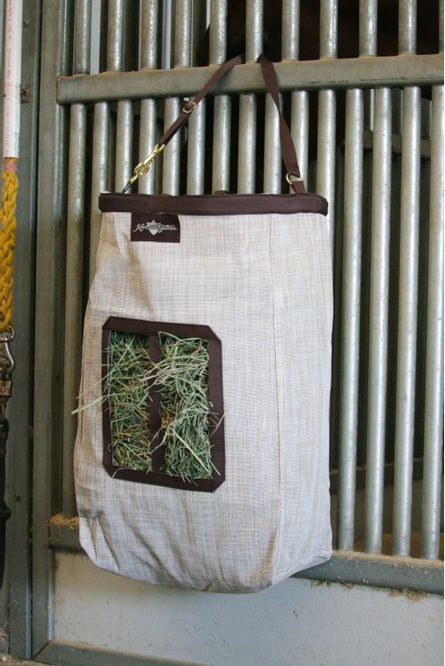 Kensington 2 Flake Hay Bag with Rim - Desert Sand