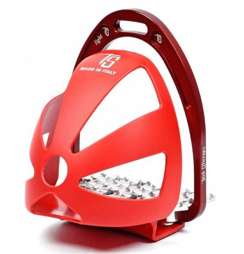 Tech Stirrups Endurance Toe Cages - Red
