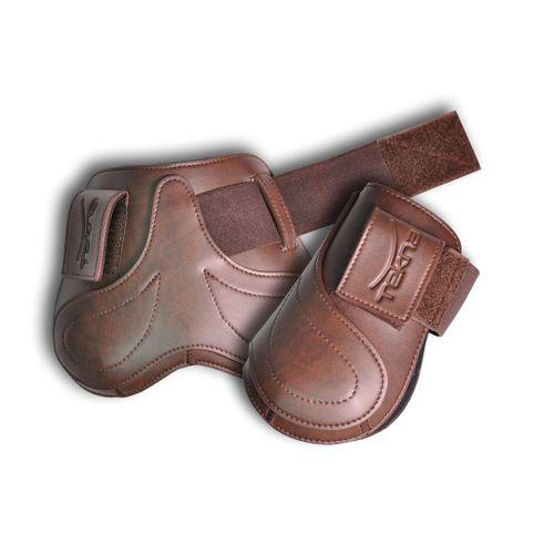 Tekna Hook and Loop Fetlock Boots - Brown