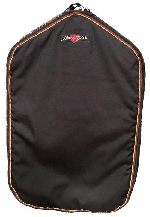 Kensington Signature Padded Garment Bag w/Side Zippers - Deluxe Black