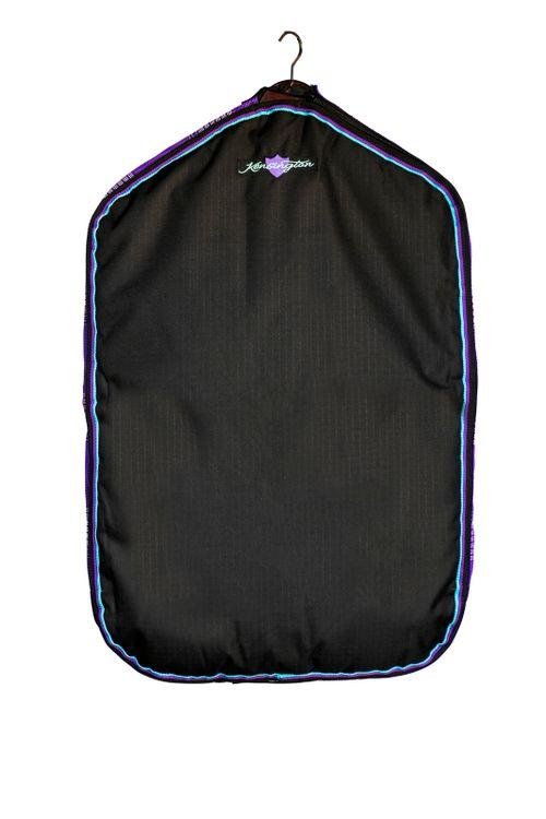 Kensington Signature Padded Garment Bag w/Side Zippers - Lavender Mint