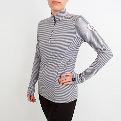 Irideon Women's AirTech Half Zip - Dove Grey