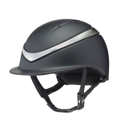 Charles Owen Halo MIPS Helmet - Black/Platinum