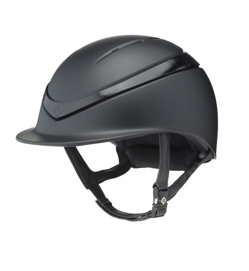 Charles Owen Halo MIPS Helmet - Black Matte/Black Gloss Ring
