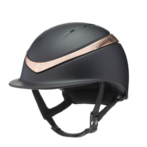 Charles Owen Halo MIPS Helmet - Black/Rose Gold