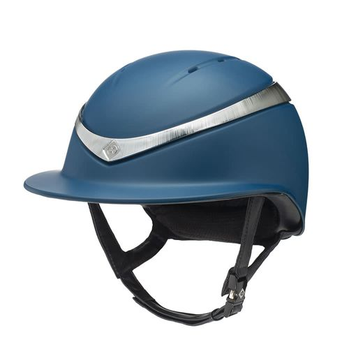 Charles Owen Halo Luxe Helmet - Navy/Platinum