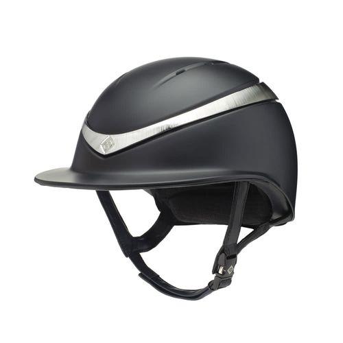 Charles Owen Halo Luxe Helmet - Black/Platinum