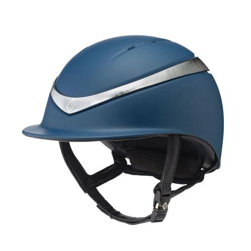 Charles Owen Halo Helmet - Navy/Platinum