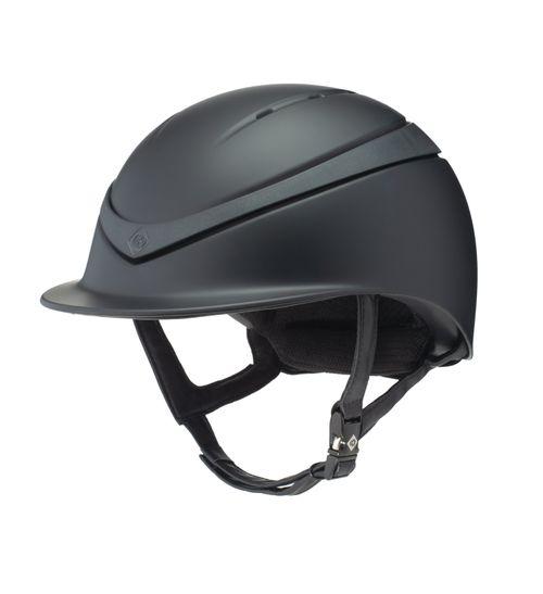 Charles Owen Halo MIPS Helmet - Black Matte/Black Matte Ring