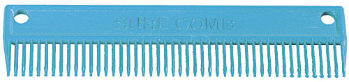GT Reid Sure Comb Large Main and Tail Comb - Royal Blue