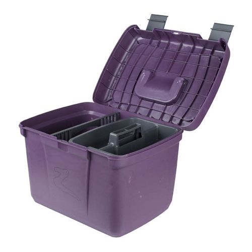 Horze Smart Grooming Box - Dark Purple