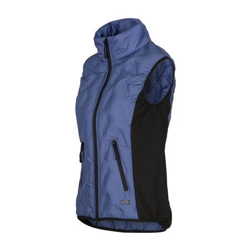 Horze Women's Shelly Light Padded Vest - Marlin Blue