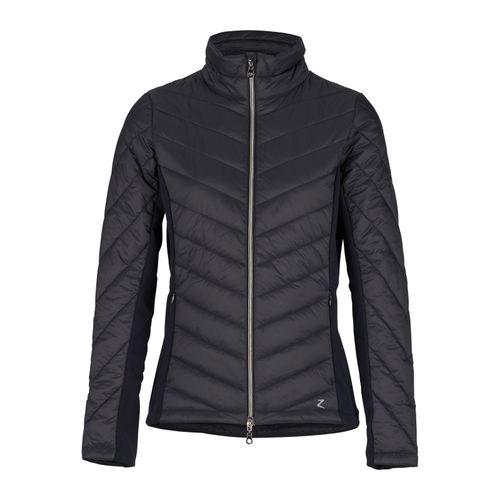 Horze Women's Isla Padded Hybrid Jacket - Dark Navy