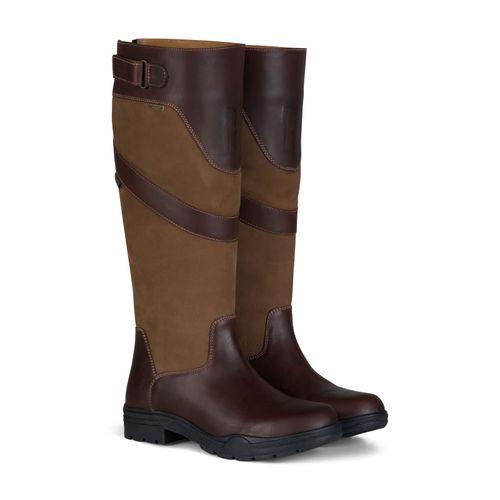 Horze Waterford Country Boots - Dark Brown/Dark Brown