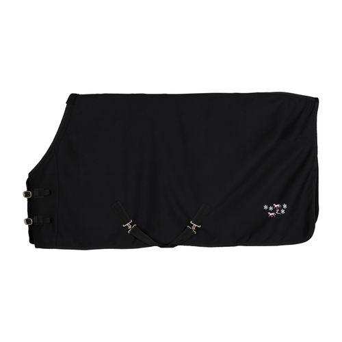 Horze Tucker Pony Fleece Blanket - Black