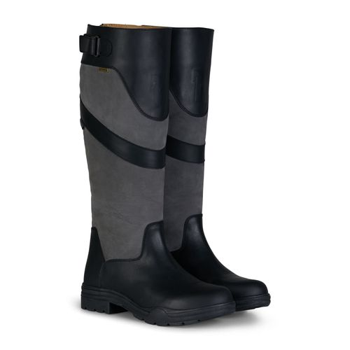 Horze Waterford Country Boots - Black/Grey