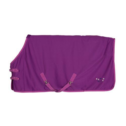 Horze Tucker Pony Fleece Blanket - Arty Purple