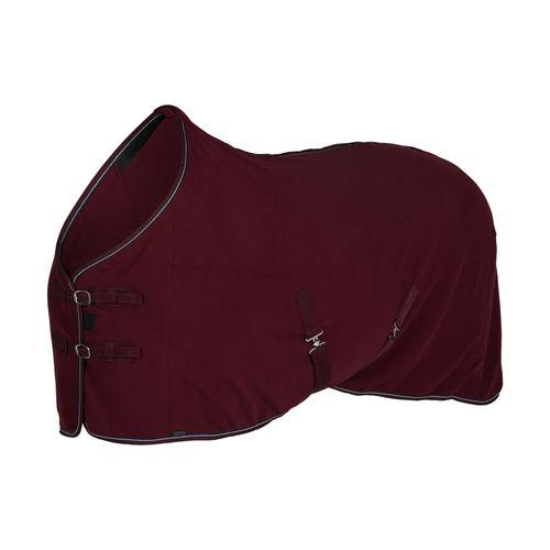 Horze Kiel Fleece Blanket - Dark Red