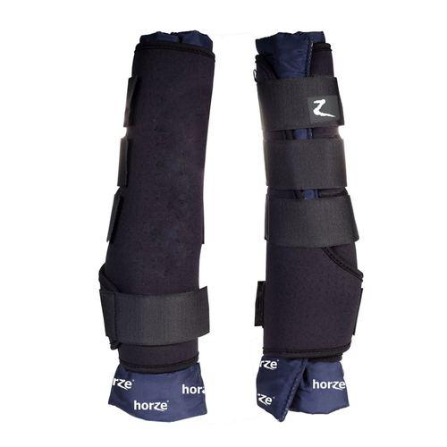 Horze Front Stable Boots Pro - Black