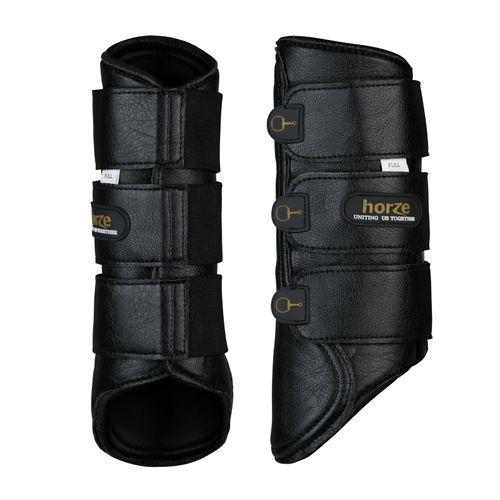 Horze Montauk Brushing Boots - Black