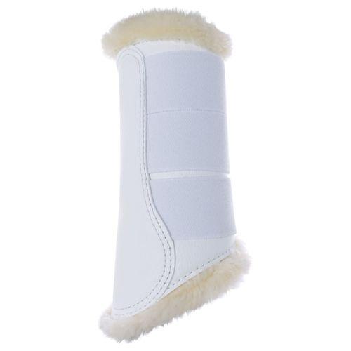 Horze Signature Brushing Boots - White