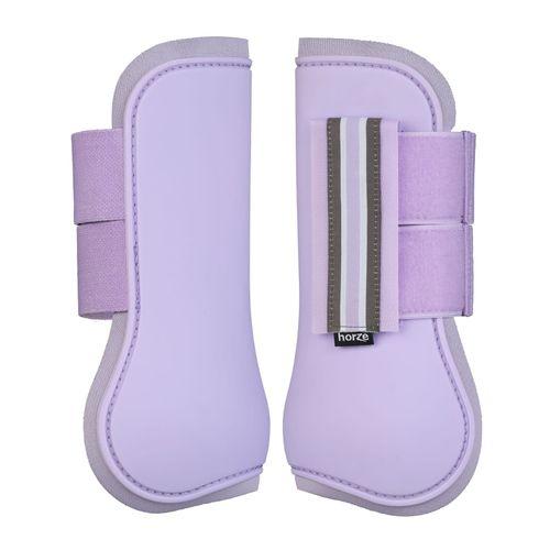Horze Adepto Tendon Boots - Languid Lavender Purple