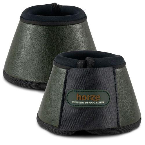 Horze Montauk Bell Boots - Beetle Khaki Green