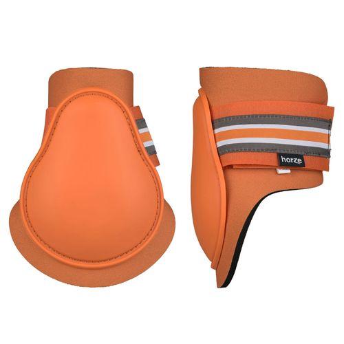 Horze Adepto Fetlock Boots - Coral Gold