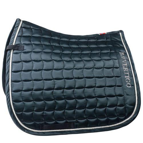 B Vertigo Winston Dressage Saddle Pad - Navy Dark Blue