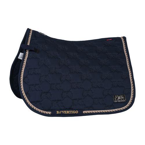 B Vertigo Monaco All Purpose Saddle Pad - Dark Navy