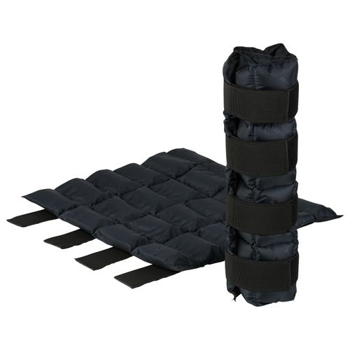 Horze Pro Cooling Therapy Ice Wrap Pair - Jet Black