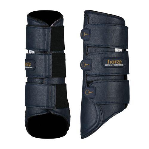 Horze Montauk Brushing Boots - Night Dark Blue