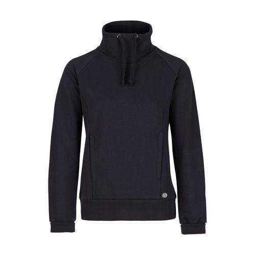Horze Women's Elinor Turtle Neck Sweatshirt - Dark Navy