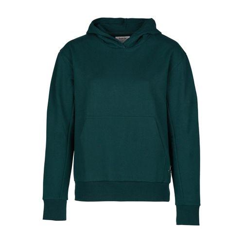 Horze Women's Sara Organic Cotton Hoodie - Ponderosa Pine Dark Green