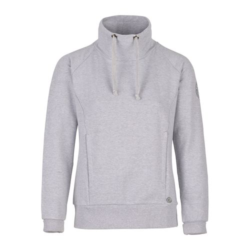 Horze Women's Elinor Turtle Neck Sweatshirt - Ash Gray