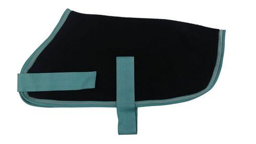 Halo Fleece Dog Jacket - Black