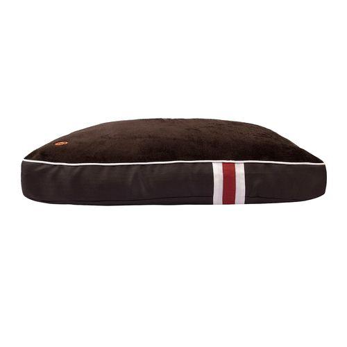 Halo Sam Rectangular Dog Bed - Charcoal