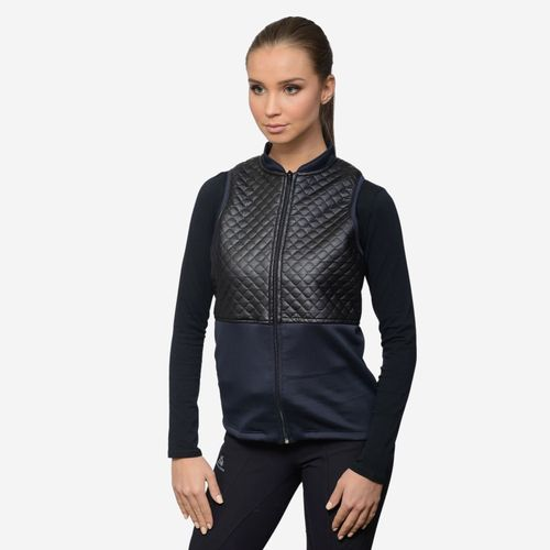 Cavalliera Women's Grace Vest - Black/Navy Blue