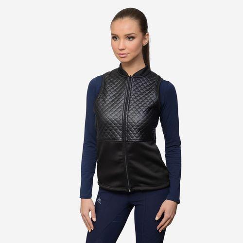 Cavalliera Women's Grace Vest - Black/Black