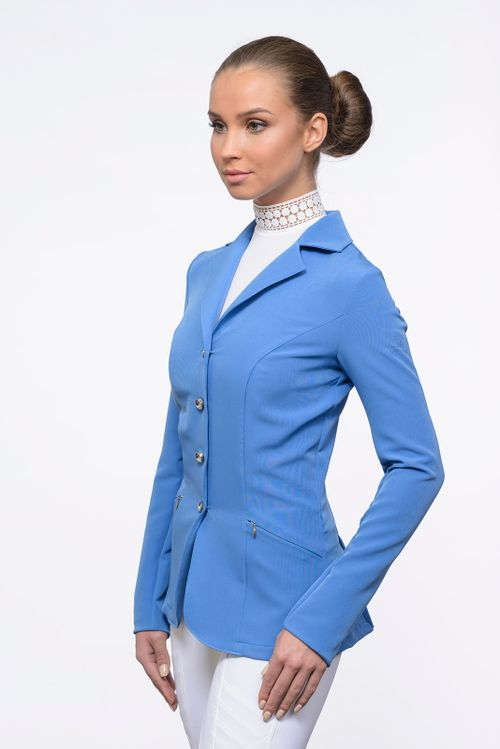 Cavalliera Women's Top of the World Show Jacket - Pastel Blue