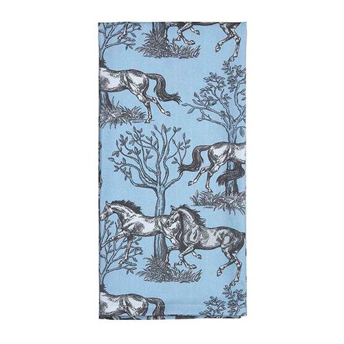 Kelley and Company Kitchen Towel - Blue Toile