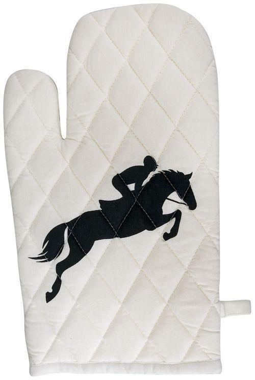 TuffRider Equestrian Themed Oven Mitts - Jumper