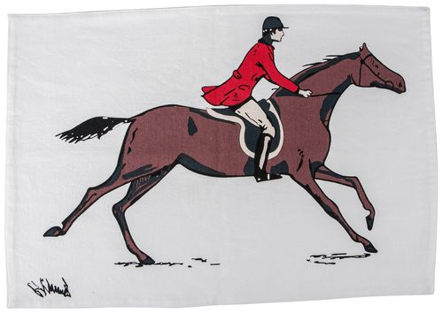TuffRider Equestrian Themed Placemat - Fox Hunting