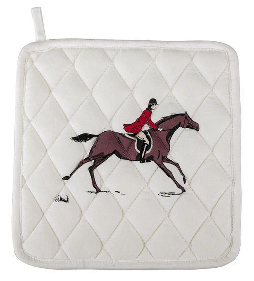 TuffRider Equestrian Themed Pot Holders - Fox Hunting