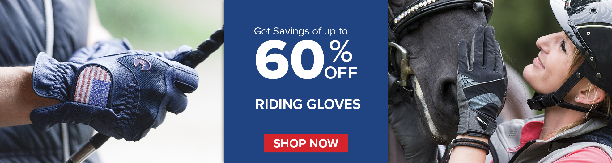 Save on Top Brand Riding Gloves on Bit of Britain