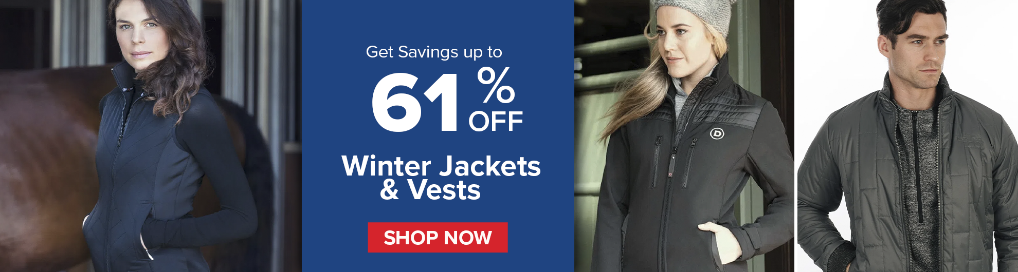 Winter Jackets and Vests on Bit of Britain